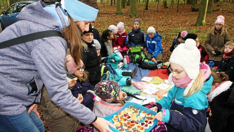 """Vechelder Grundschüler lernen, wie der Wald """"schmeckt"""" - Peiner Nachrichten"""